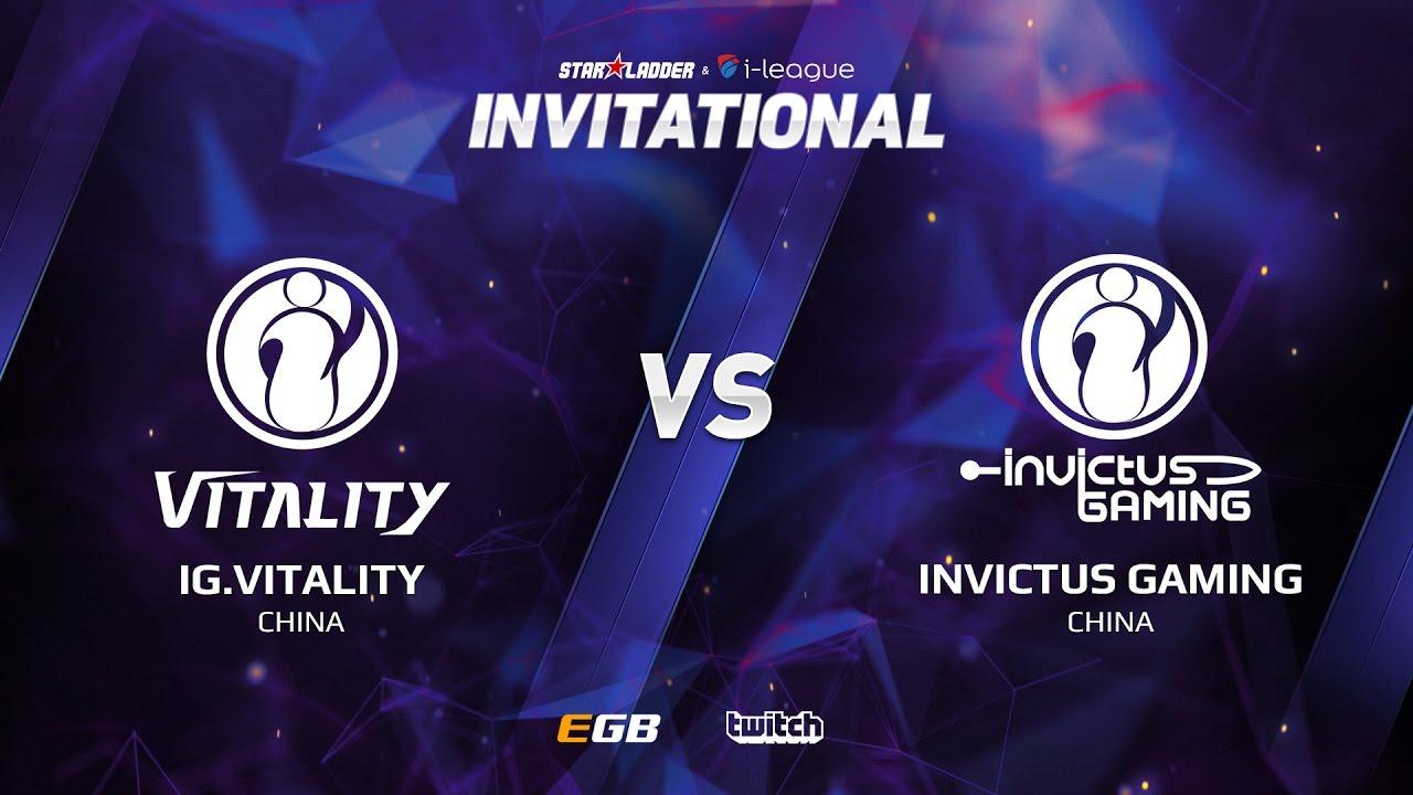 IG.Vitality vs Invictus Gaming, Game 2, SL i-League Invitational S2, CN Qualifier