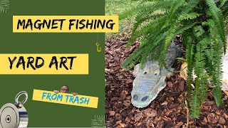 Magnet Fishing Finds Art - Made Out Of Junk Finds By - Yard Art Made By COPTECH