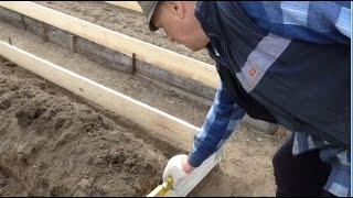 Замена коробов на грядках БЫСТРО, ВЫГОДНО И КРАСИВО! Как сделать короба для грядок.