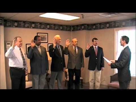 Dyer County Election Commission swearing in