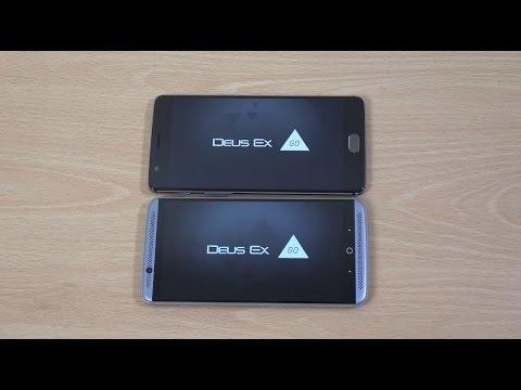 Zte Axon 7 Vs Oneplus 3t Gaming Comparison Youtube
