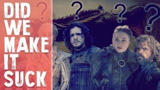 Did the INTERNET ruin TV shows??? Game of Thrones Finale!