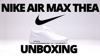 ??2015: Nike Air Max Thea *White*- Womens- Unboxing