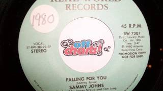 Sammy Johns - Falling For You ■ 45 RPM 1980 ■ OffTheCharts365