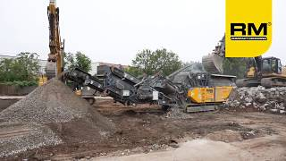 Video still for RM 90GO! track mounted compact crusher