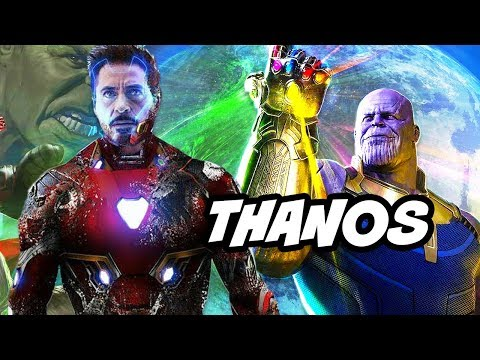 Avengers Infinity War Thanos Trailer and Avengers 4 - NO SPOILERS