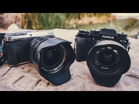 Lens Comparison: Rokinon/Samyang 12mm f2 vs Fuji 16mm 1 4