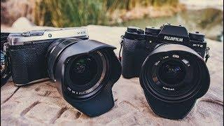 видео Samyang 12мм F2.0 NCS CS: новый широкоугольный объектив для беззеркальных фотокамер