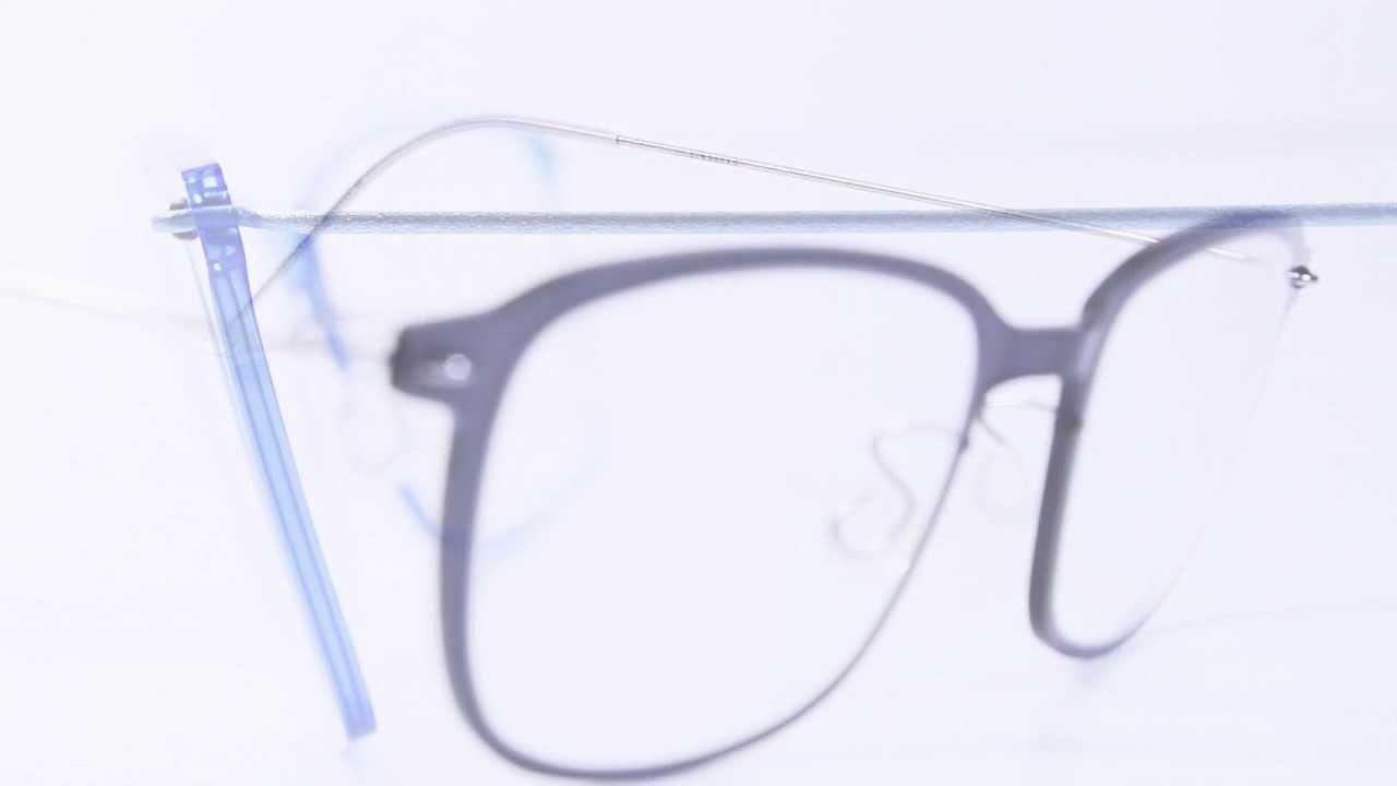 Lindberg: gafas de titanio con diseño minimalístico - YouTube