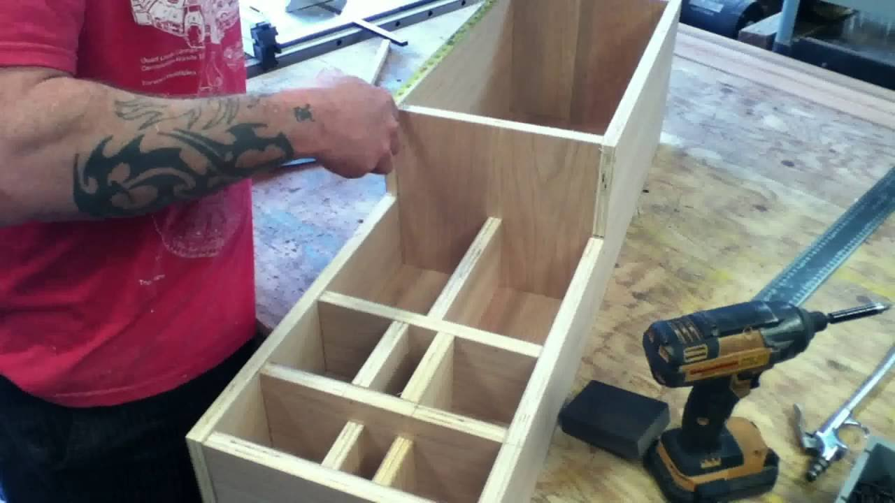 Diy Simple Center Console Build Youtube