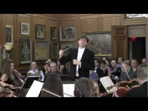 Richard Owen (excerpts): Piccini-Overture, Penderecki-3 Baroque Pieces, Schubert-Sym.No.5