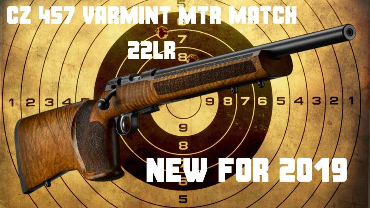 CZ 457 Varmint MTR Match 22lr Rifle NEW FOR 2019