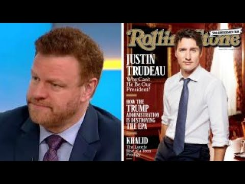 Mark Steyn on Rolling Stone wanting Trudeau for president
