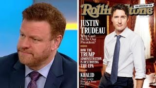 Mark Steyn on Rolling Stone wanting Trudeau for president