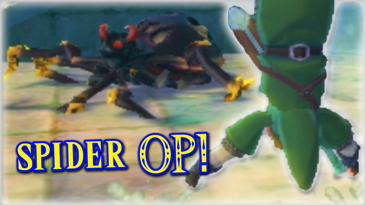 Skyward Sword HACKED - Part 6 (SPIDER OP!) - Vloggest
