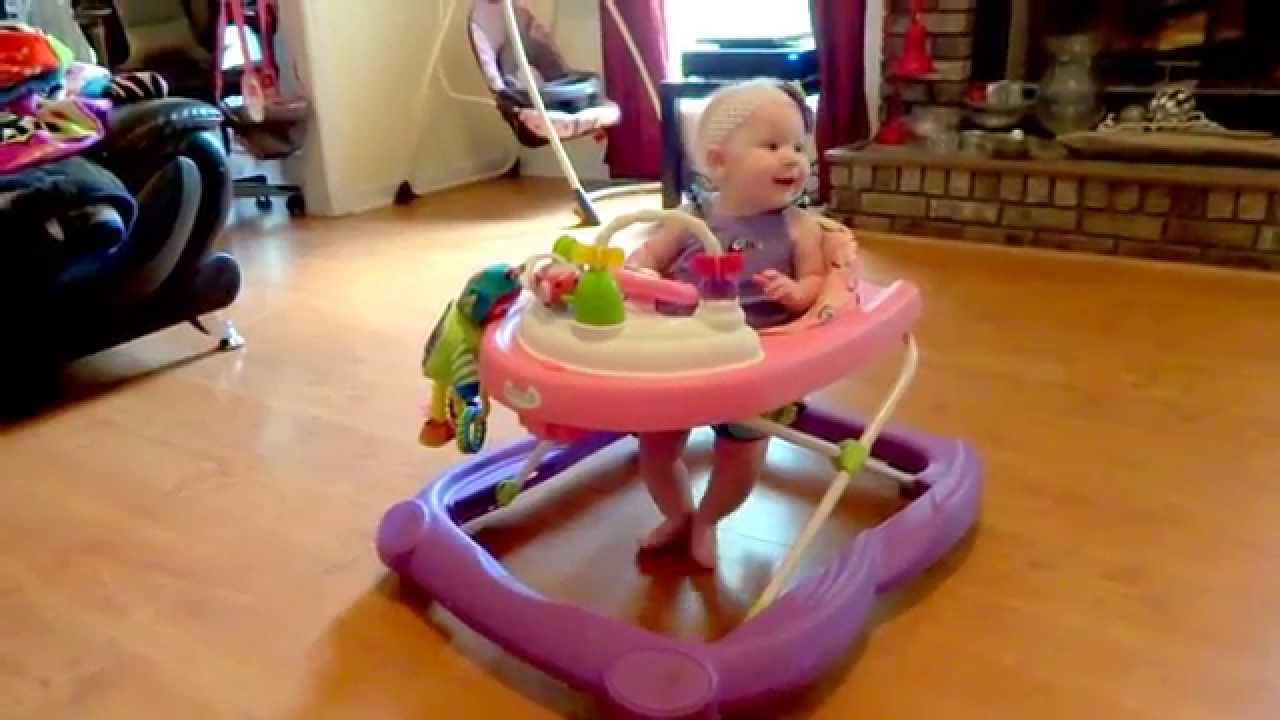 0a751c08cc96 Baby Turns Around in Circle In Walker  HD  - YouTube