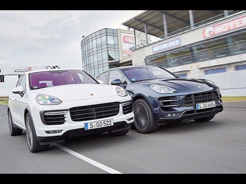 Porsche Cayenne Turbo vs. Macan Turbo