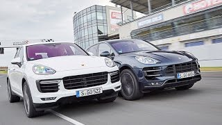 Porsche Cayenne Turbo vs. Macan Turbo
