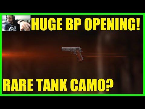 HUGE Battlepack opening! | Want Gold Martini Henry and Super rare tank camo! (70 Battlepacks) BF1