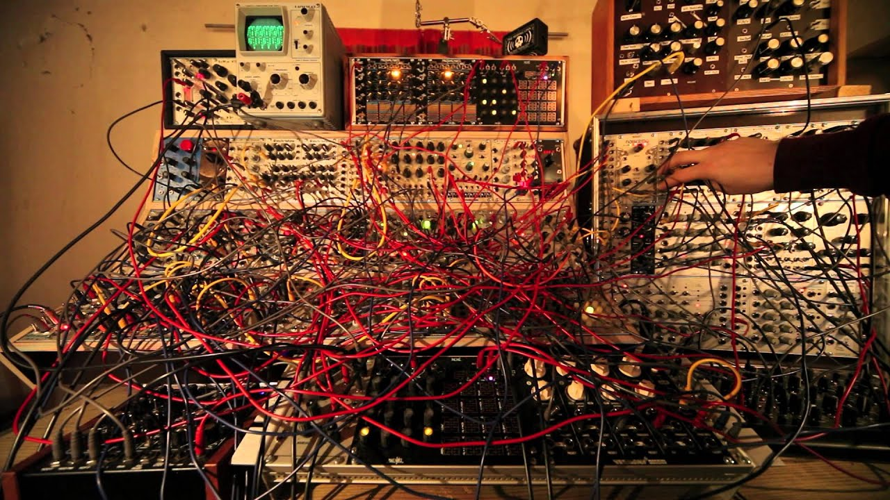 The Klirrfaktor: Wednesday (Modular System) - YouTube