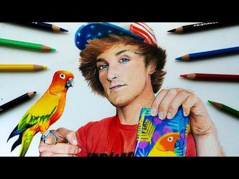 Drawing Logan Paul 🖌 😊