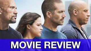Furious 7 Movie Review - Fast & Furious 7
