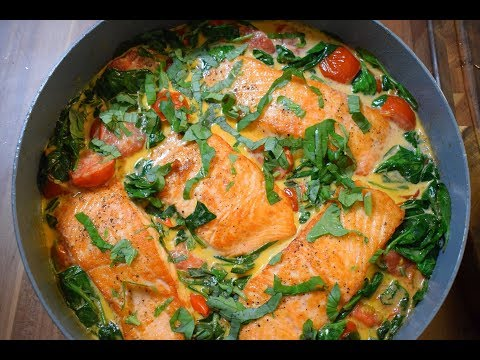Как пожарить лосось на сковороде рецепт
