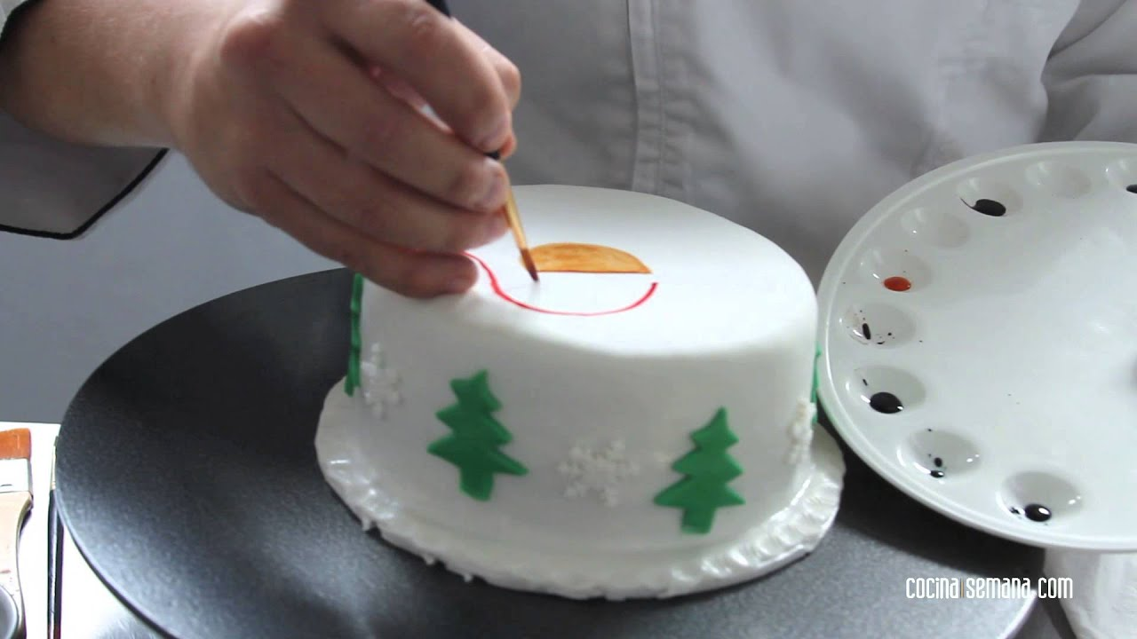C mo decorar tortas y cupcakes youtube - Decorar fotos de navidad gratis ...