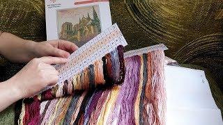 5. #вышивка Обзор набора. Химера. Notre Dame. + три схемы