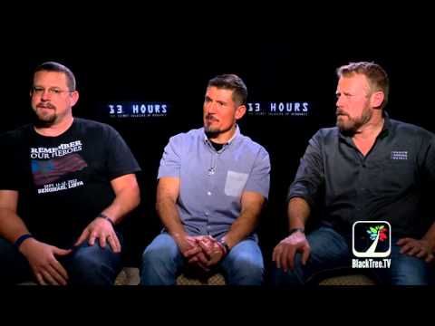 Benghazi Survivors discuss 13 Hours and why the gov't didn't rescue the CIA
