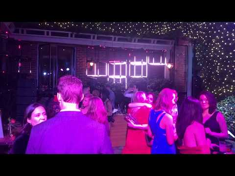 Sound and lighting for 2017 Pacific Heights private residence holiday party