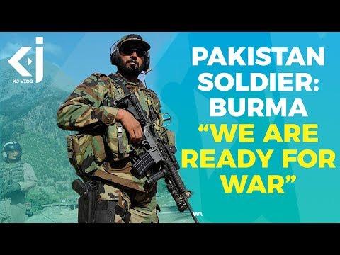 Pakistan Soldier on Burma: