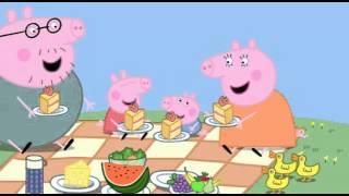 Peppa Pig (Свинка Пеппа) 17. Picnic (мультфильм на английском)