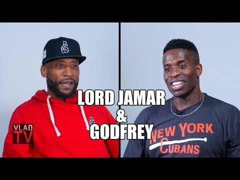 Lord Jamar & Godfrey on White People Being Aggressive with Cops (Part 7)