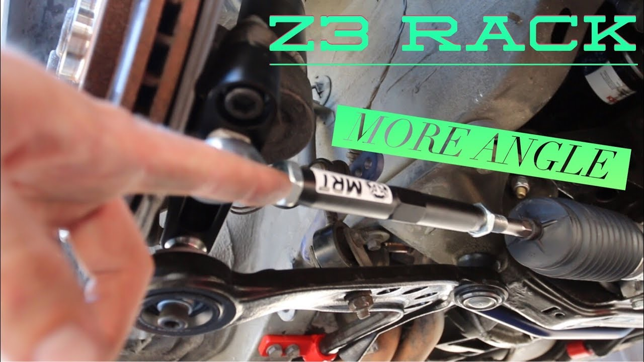 E30 Bmw Z3 Power Steering Rack Conversion Part 2 Youtube