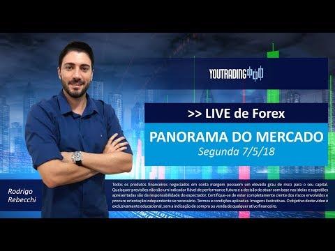 LIVE de Forex - Panorama do Mercado 7/5/18