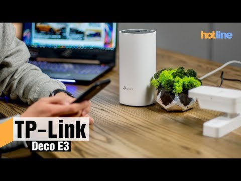 TP-Link Deco E3 — обзор Wi-Fi Mesh-системы