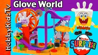 SpongeBob's Glove World Toy Review by HobbyKidsTV thumbnail