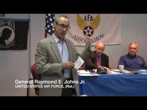 Gen. Raymond E Johns Jr. Speaks to the NJ AFA