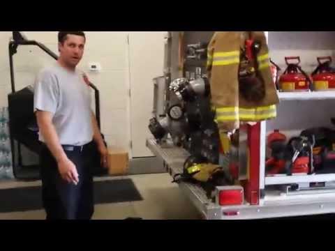 Huntington Fire Station Tour