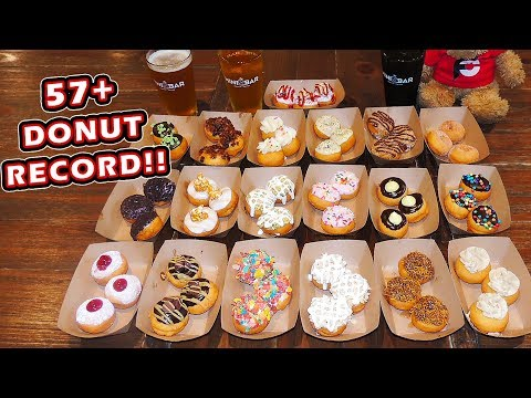 Delicious Mini Donuts Challenge in Jacksonville Beach, Florida!!