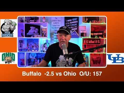 Buffalo vs Ohio 3/13/21 Free College Basketball Pick and Prediction CBB Betting Tips