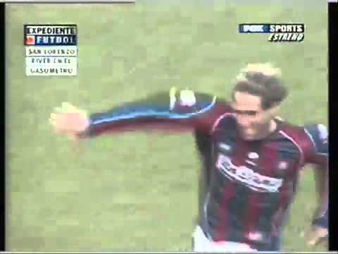 Pablo Zabaleta - San Lorenzo vs River - 2005