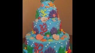 Cómo Hacer Un Pastel De Sirenita Muy Fácil!! - Madelin's Cakes