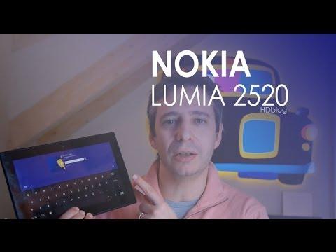 Nokia Lumia 2520 la recensione di HDblog.it