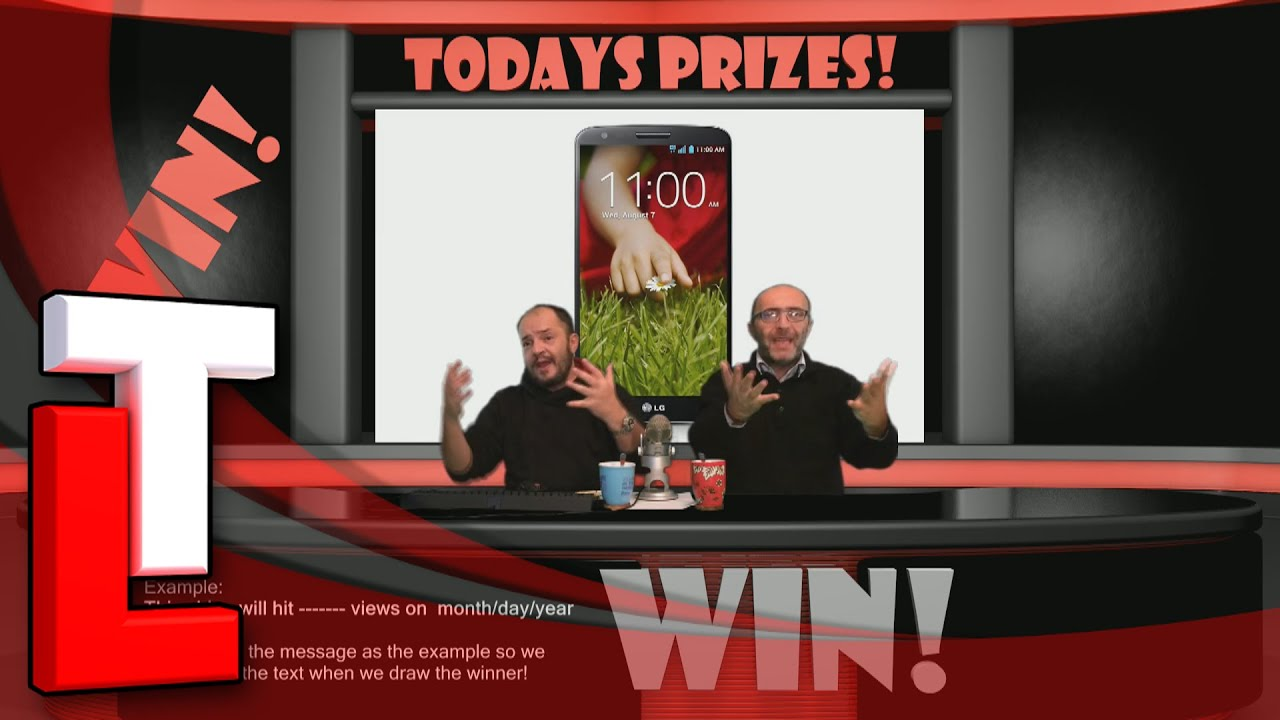 Win a LG G2 D802 (Unlocked, 32GB, Black) SIM Free on Tube ...