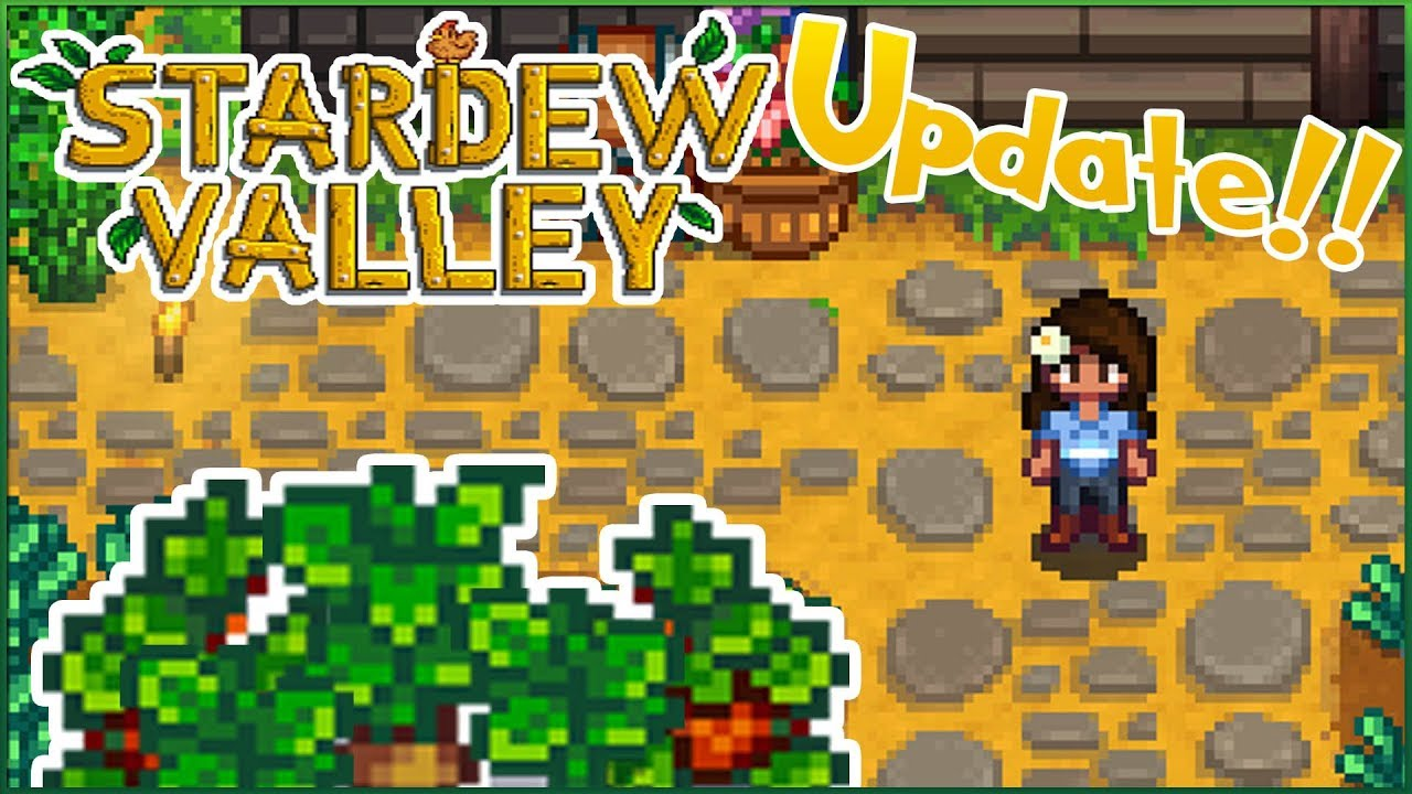 Download Spring Sprouts & Community Upgrades?! 🌿 Stardew Valley 1.3 Update • Episode #7