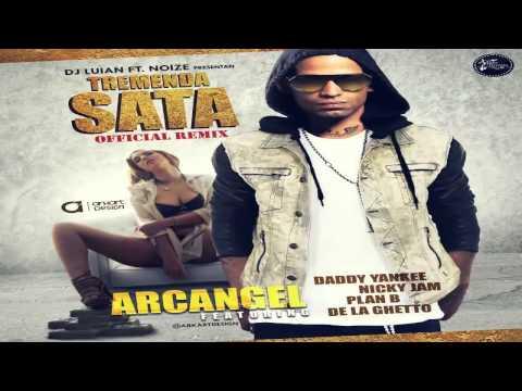Tremenda Sata Remix - Arcangel FtDe La Ghetto, Plan B, Daddy Yankee Y Nicky Jam (Original)