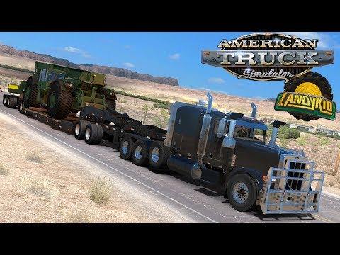 American truck simulator   Military container crane