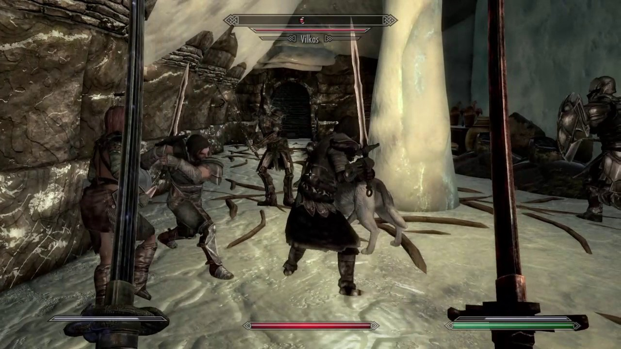 Skyrim - Multiple Followers Mod is Awesome